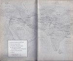 "This map of Jesus' travels to the East is from ""The Lost Years of Jesus - Documentary Evidence of Jesus'17 Year Journey To The East,"" by Elizabeth Clare Prohpet, pages 386-387."