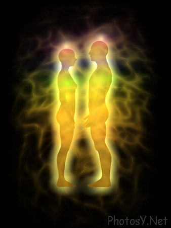 Our Soul clothes our Spirit, our God particle, which is eternal.