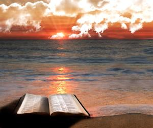 bible sun scene