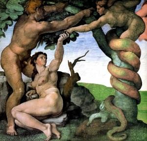 Adam-and-Eve-in-Garden-Michelangelo