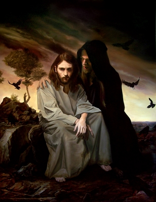 Jesus was tempted in all ways, just like you and me, but faithfully fulfilled his mission as our Savior.