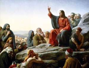 Jesus teaching about keeping God's name holy, and about the coming of the Kingdom of God, which he taught about more than 100 times mentioned in the New Testament. Jesus taught about the coming Kingdom of God more than any other message.